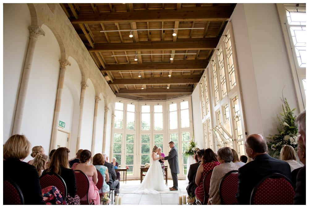 Wedding Ceremony at Highcliffe Castle