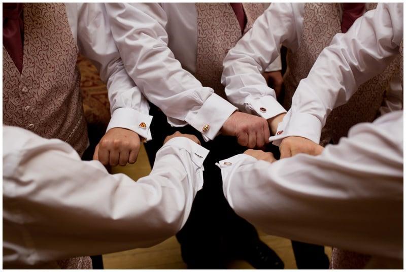 Tyrells Ford wedding cufflinks