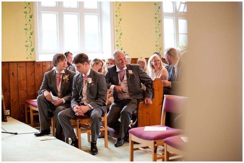 Inside Crowe Hill Church wedding
