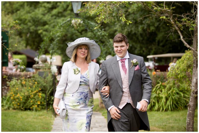 Ringwood mother of bride with usher