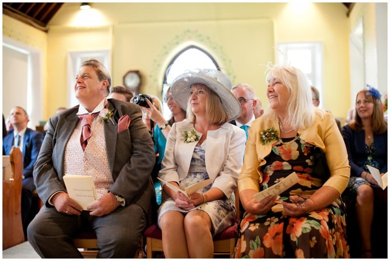 Relaxed wedding photography at Ringwood Church
