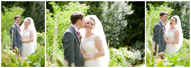 Photography of Bride and Groom at Ringwood Garden