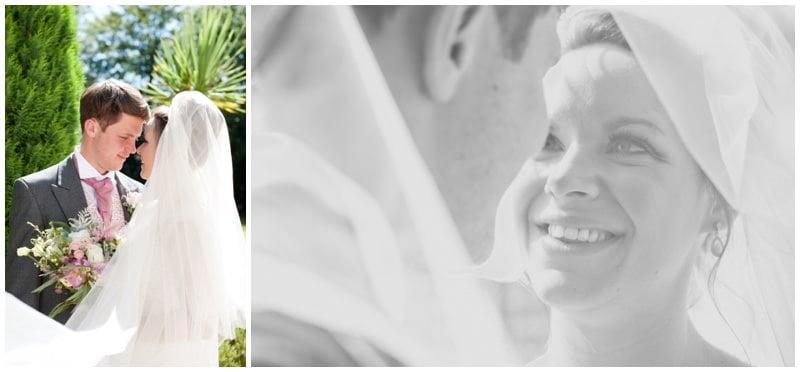 Wedding photography at Tyrrells Ford Hotel
