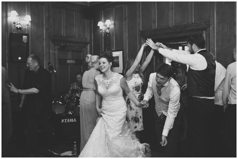 Wedding Ceilidh at Tyrrells Ford Hotel