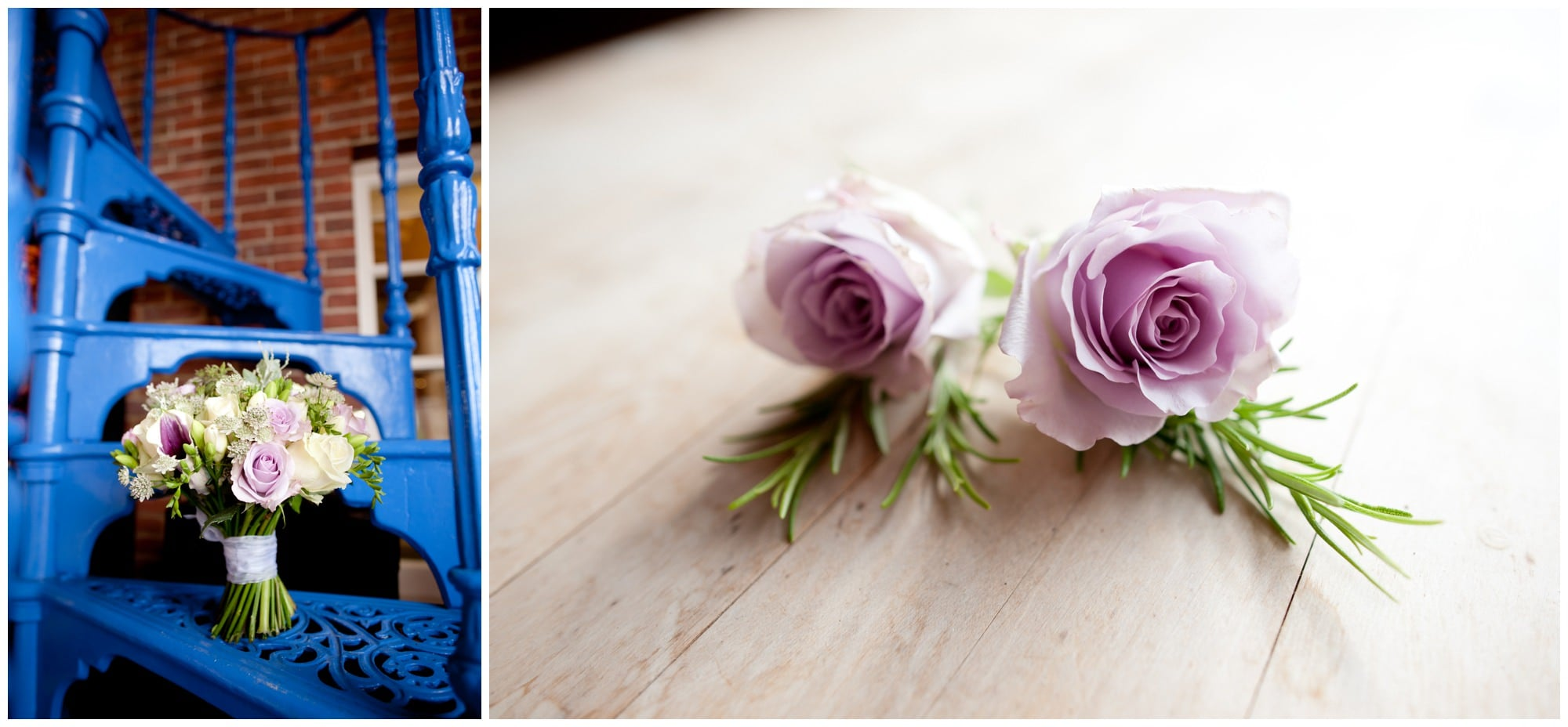Photograph of Wedding Bouquet and Buttonholes