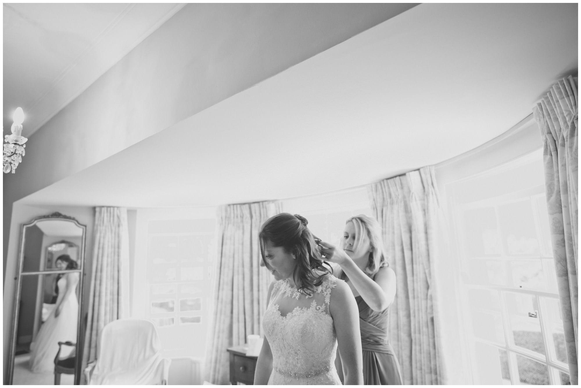 Micheldever Bride and Bridesmaid
