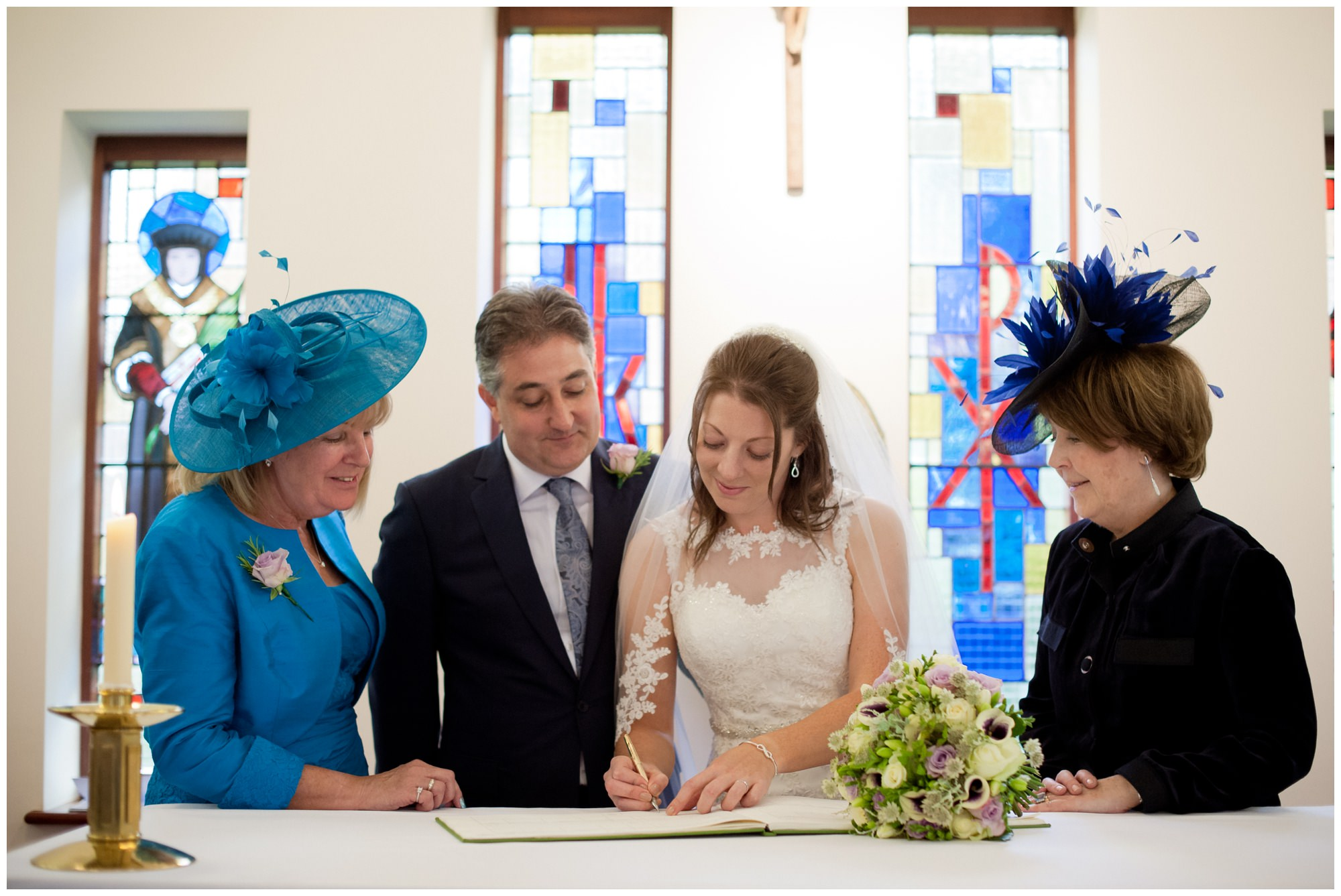 Signing the Register Whitchurch