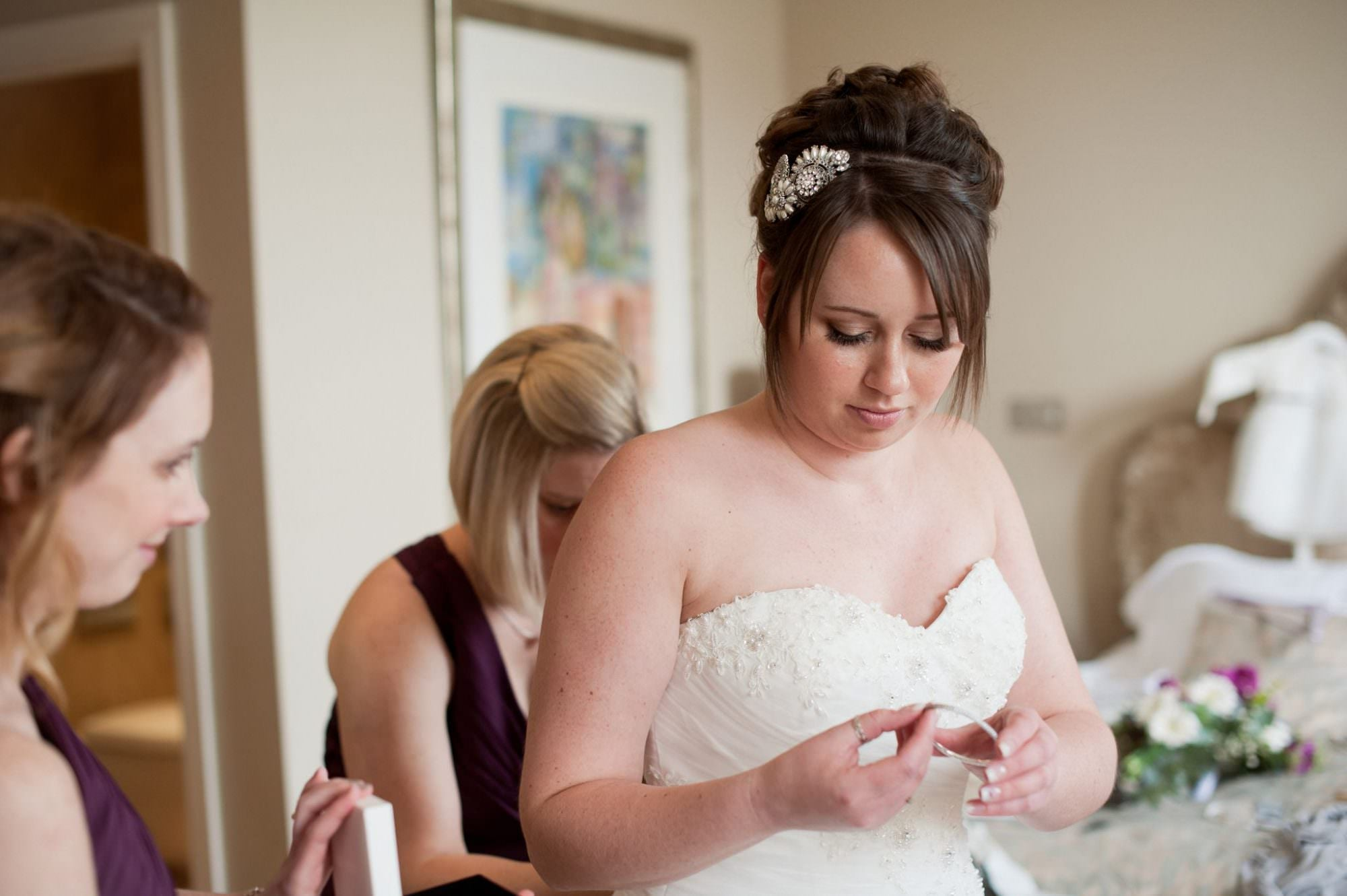 Bridal jewellery at Kings Arms