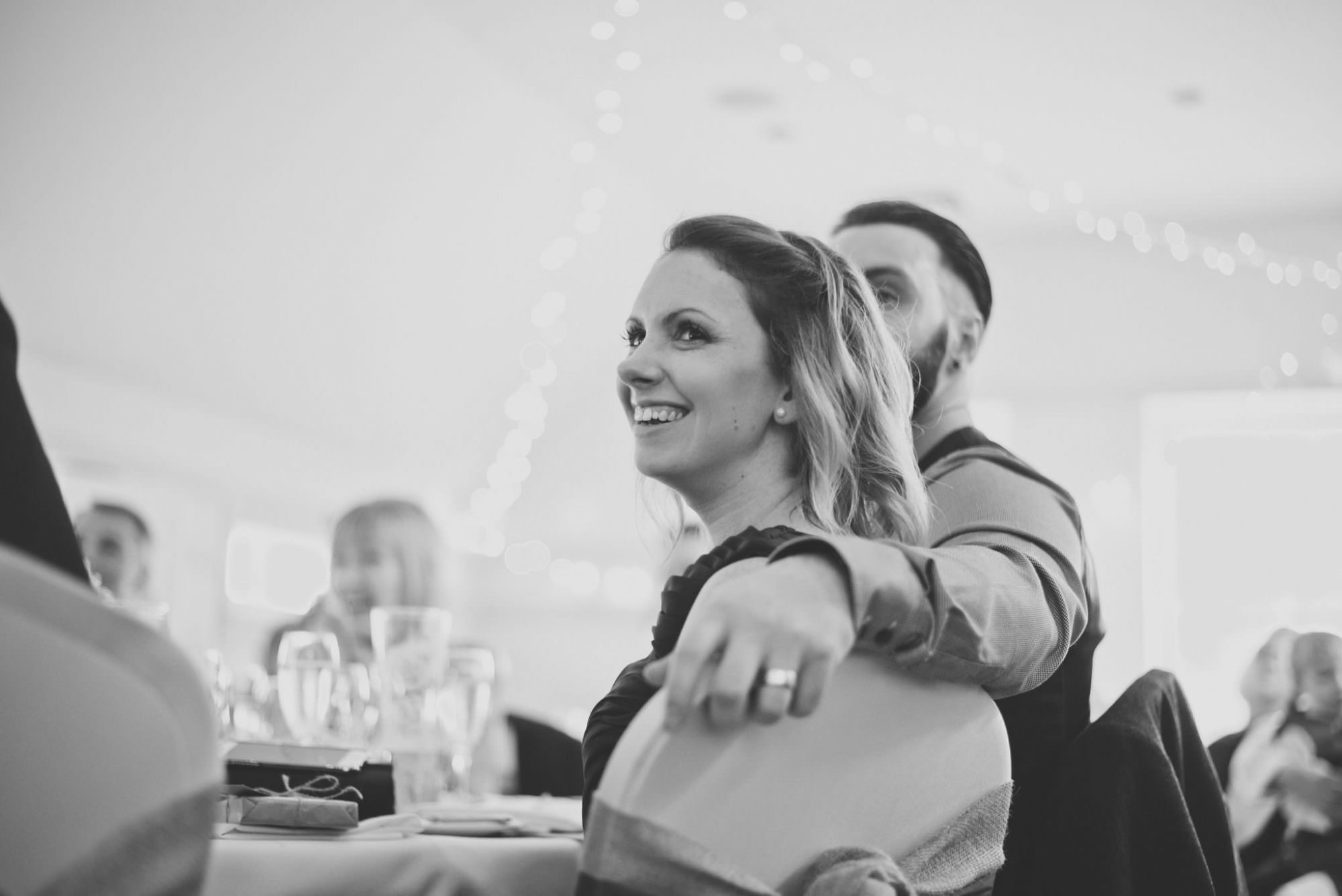Bridesmaid at Kings Arms Hotel Wedding