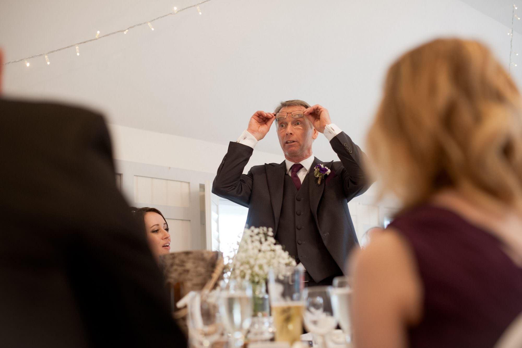 Father of Bride Speech at Christchurch Wedding