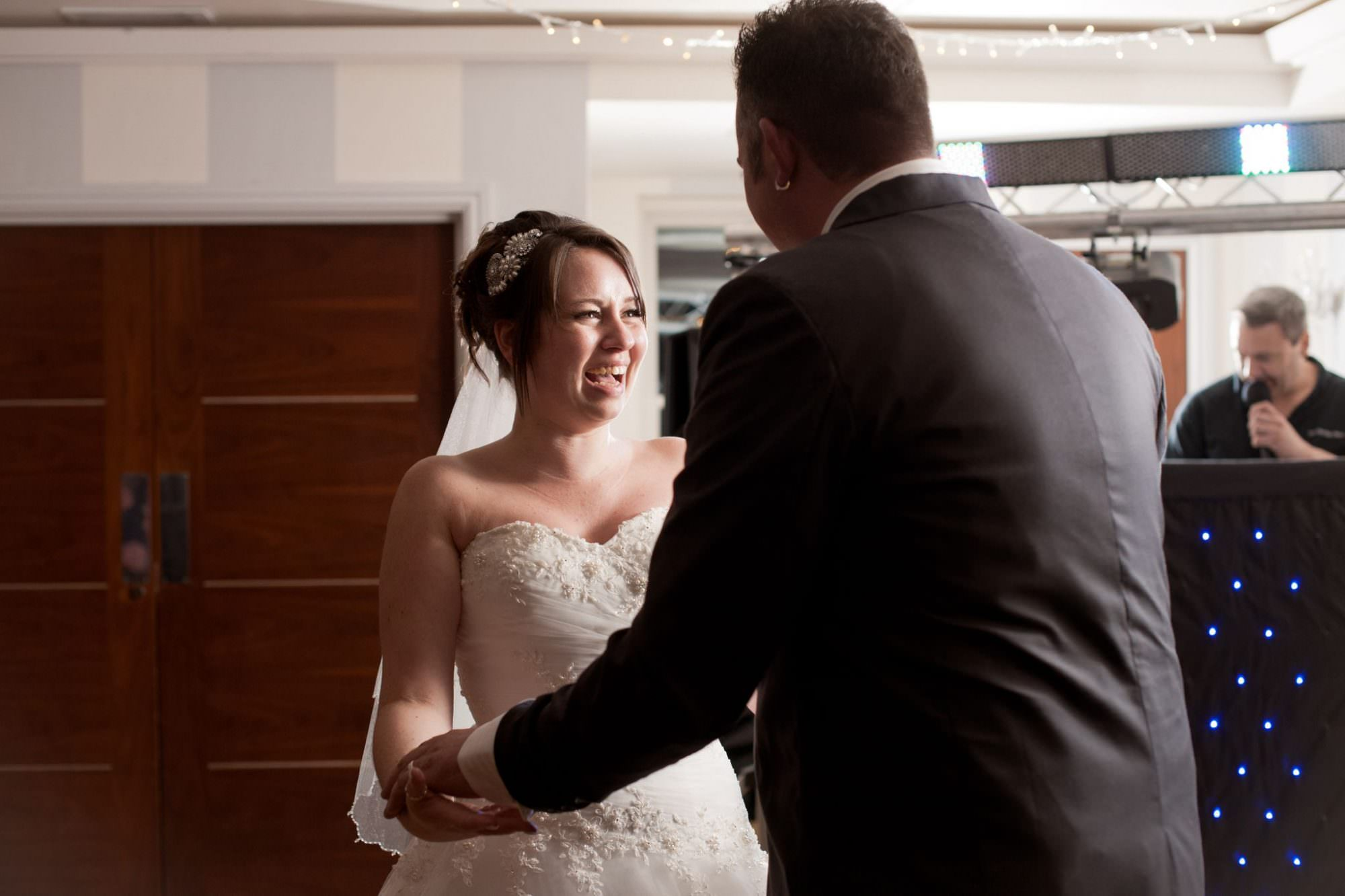 First Dance at Kings Arms Hotel