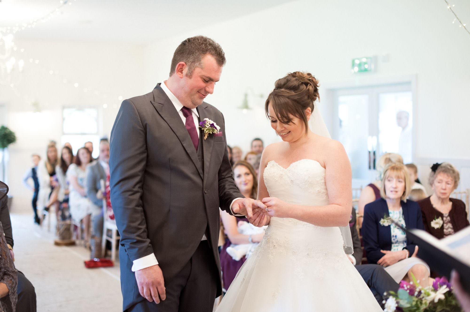 Wedding ceremony in Christchurch