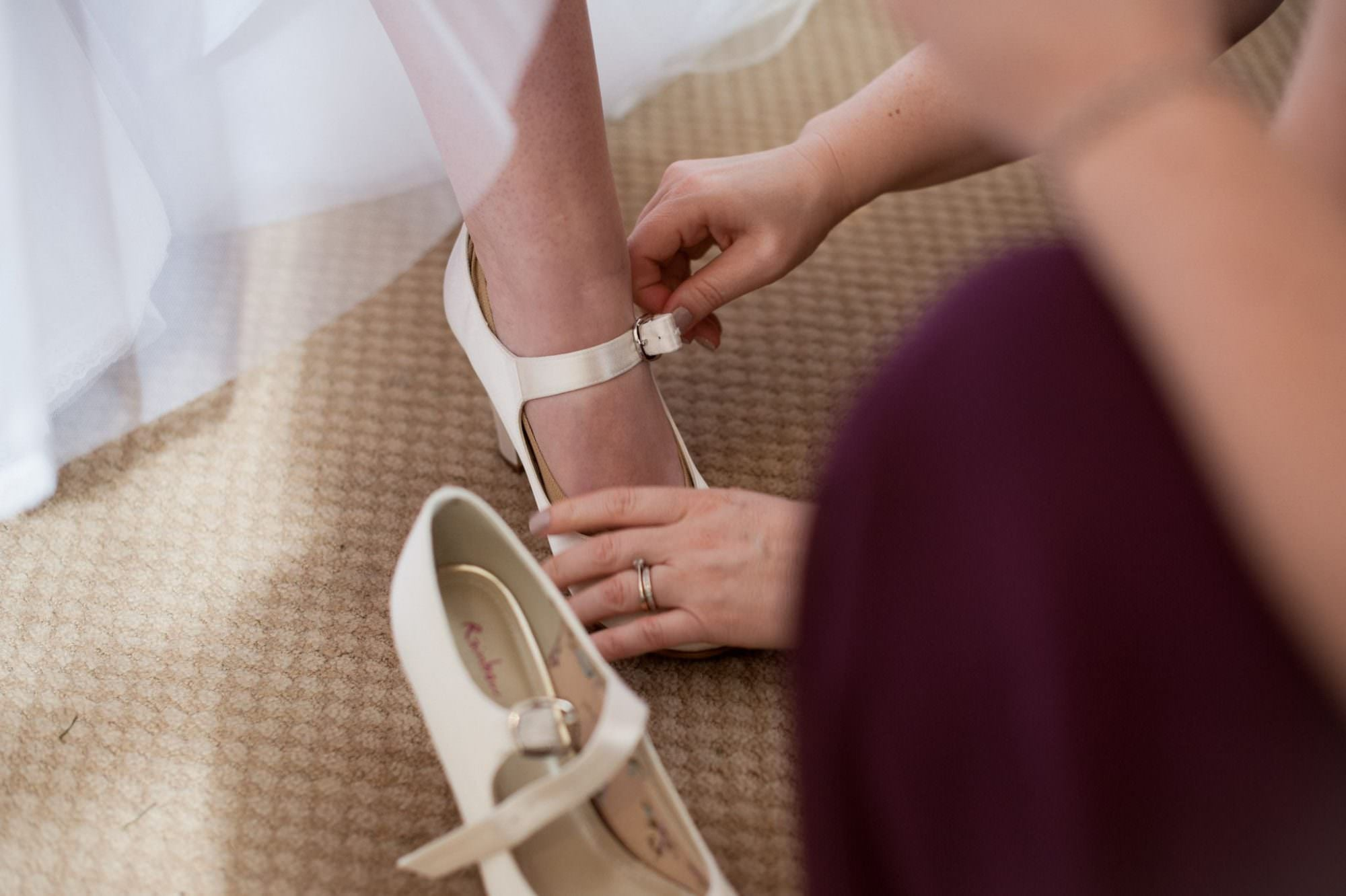 Bridal shoes in Bournemouth Dorset