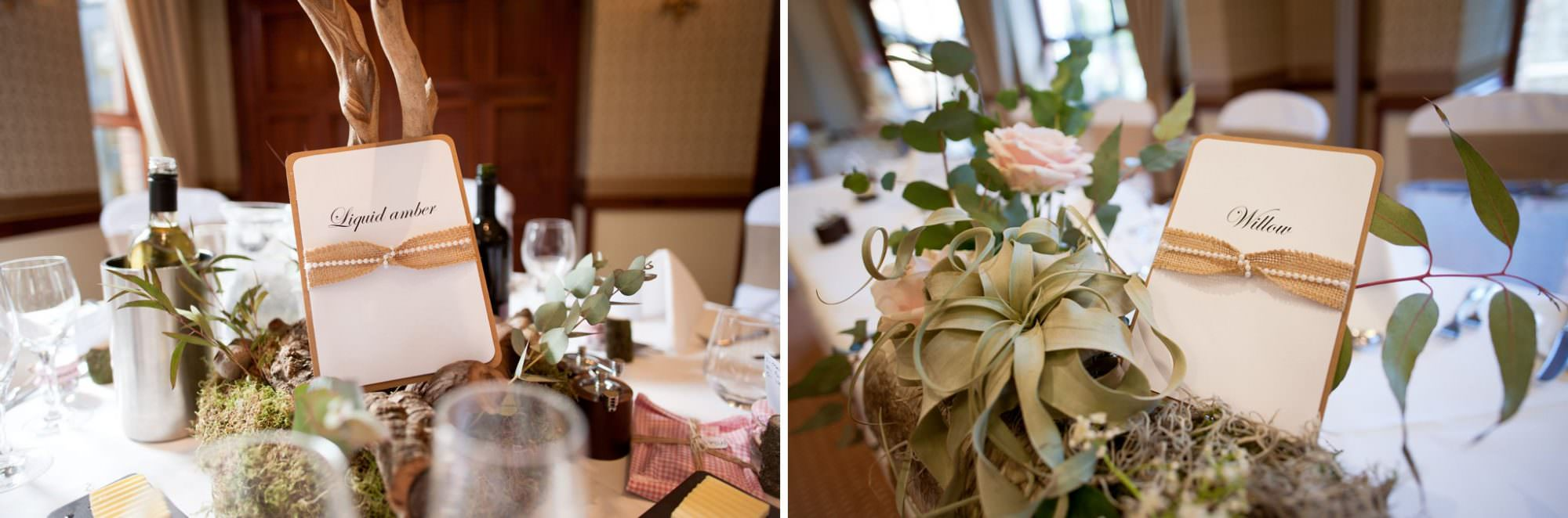 Wedding decorations by Little Lillies