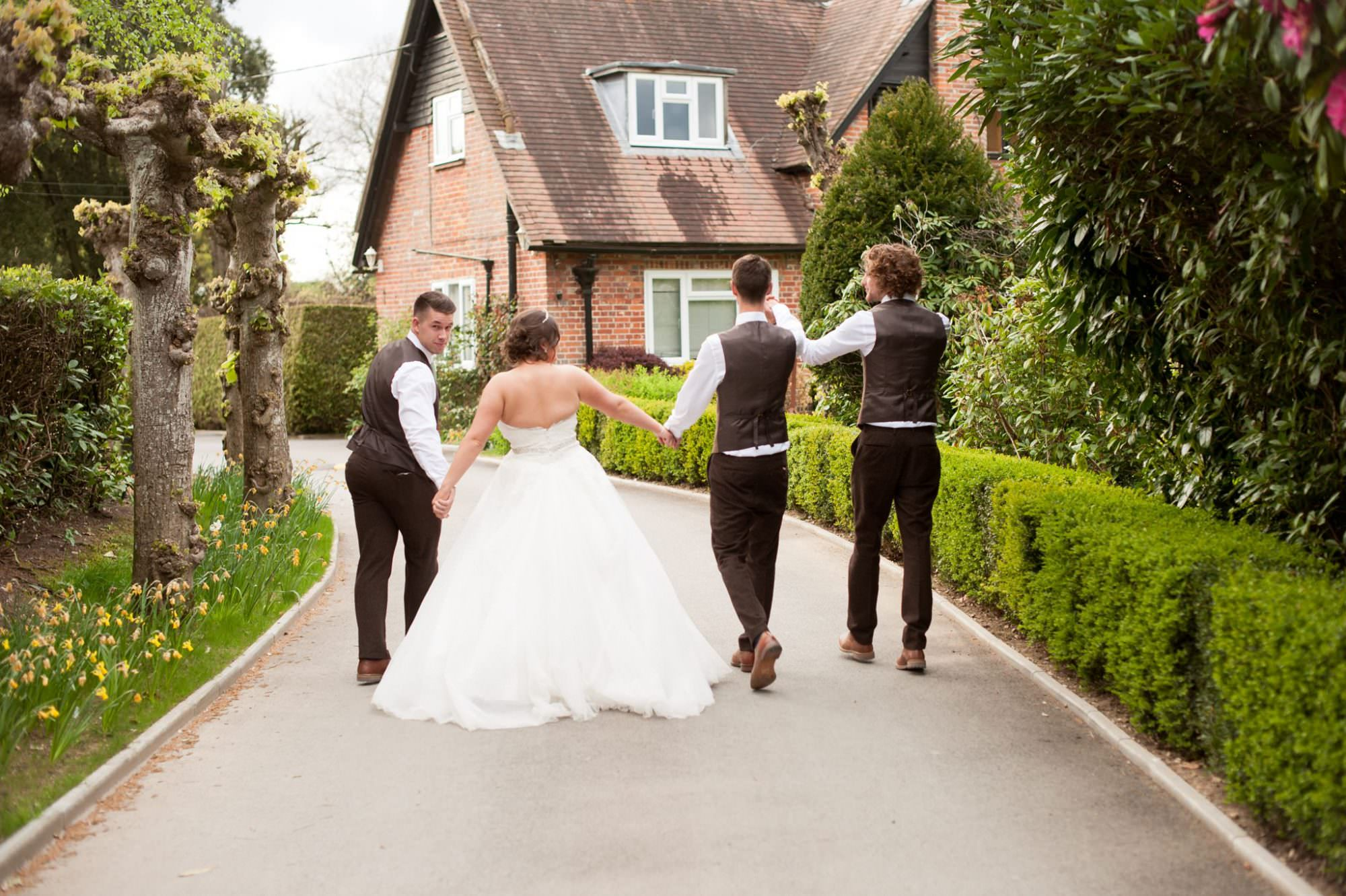 Fun Hampshire Wedding Photography