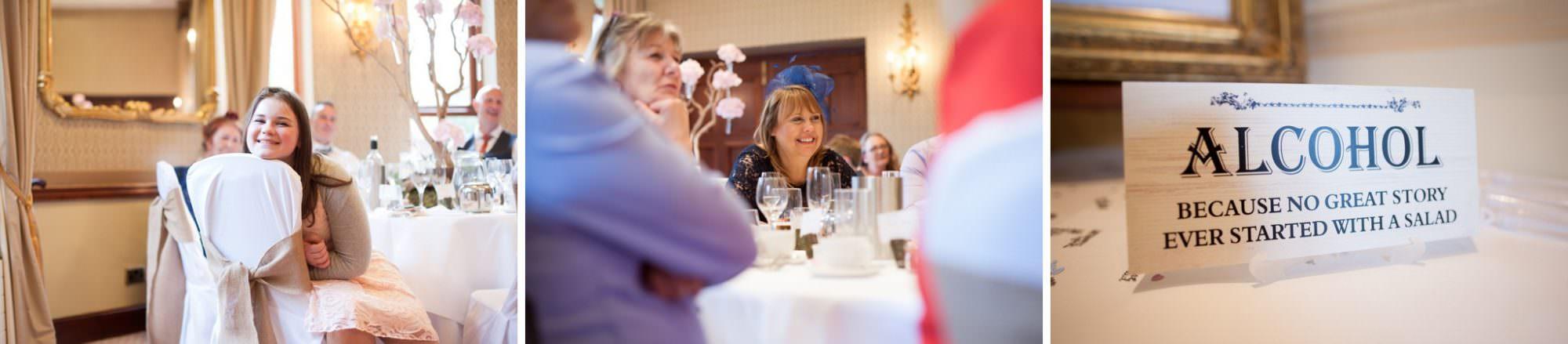 Photography of Careys Manor Hotel speeches