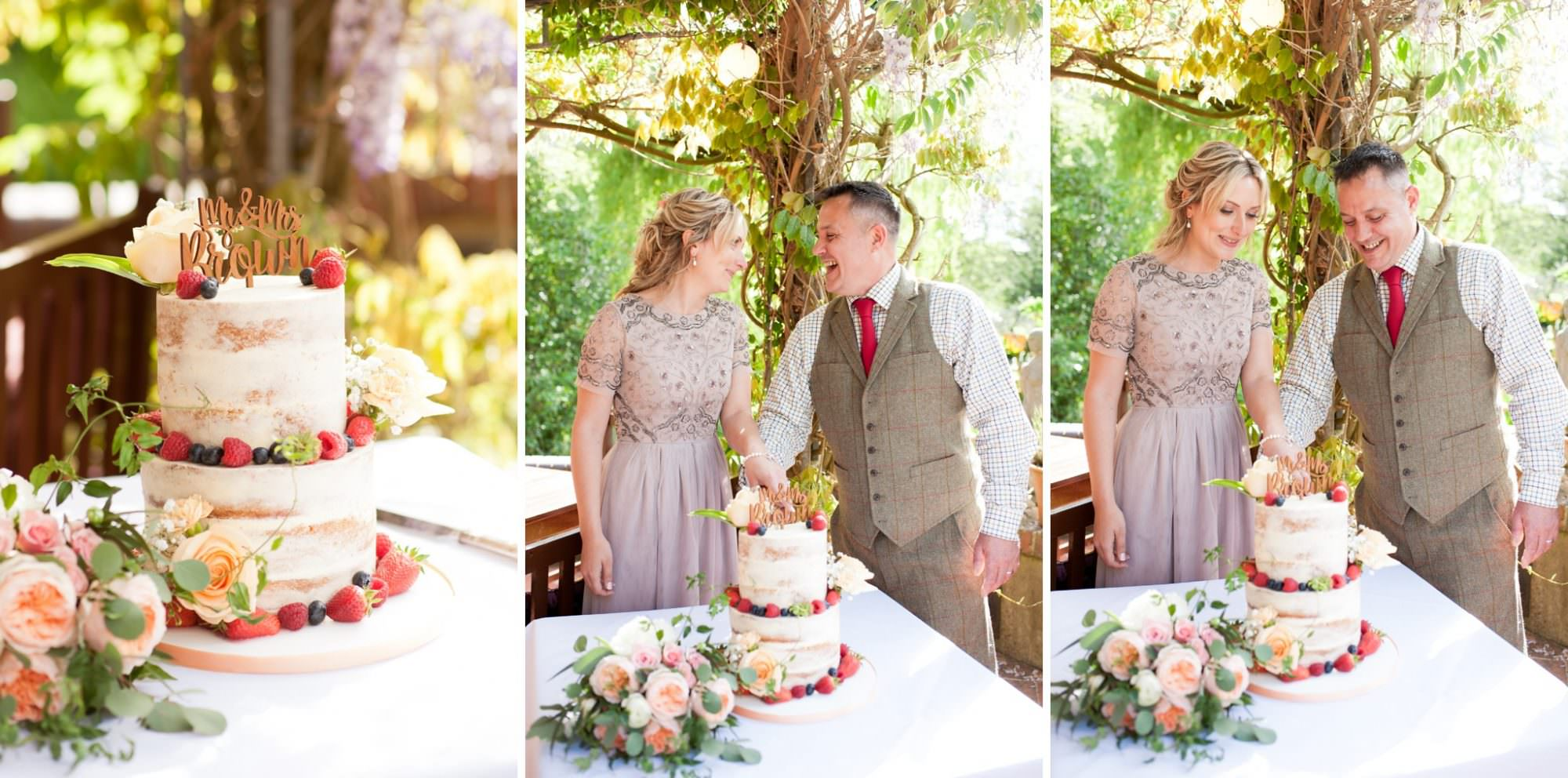 Wedding photography at Gordleton Mill