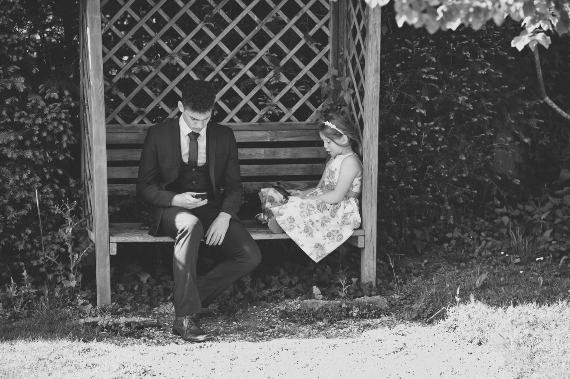 Black and white hampshire photograph
