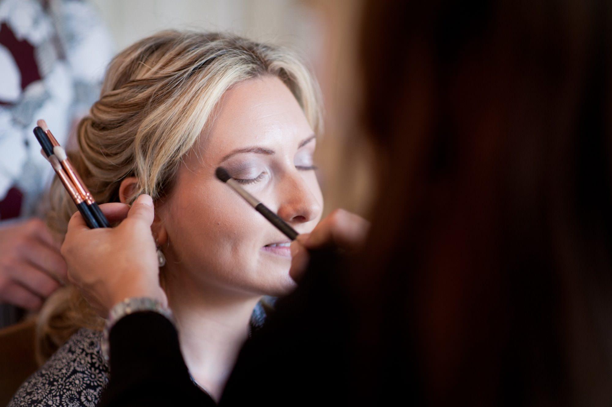 Wedding Makeup for Sopley Church