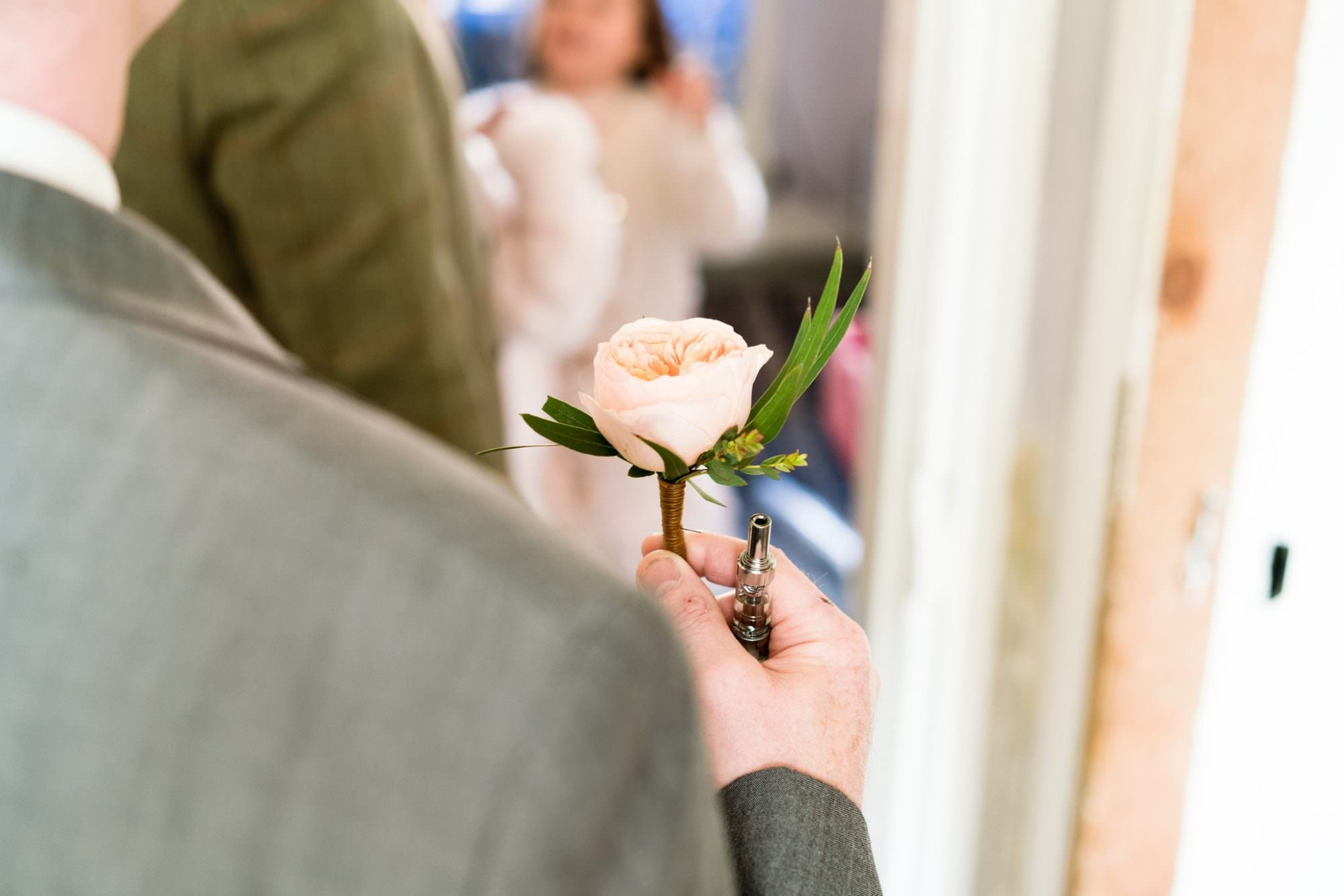 Photograph of Hampshire Groom's Buttonhole