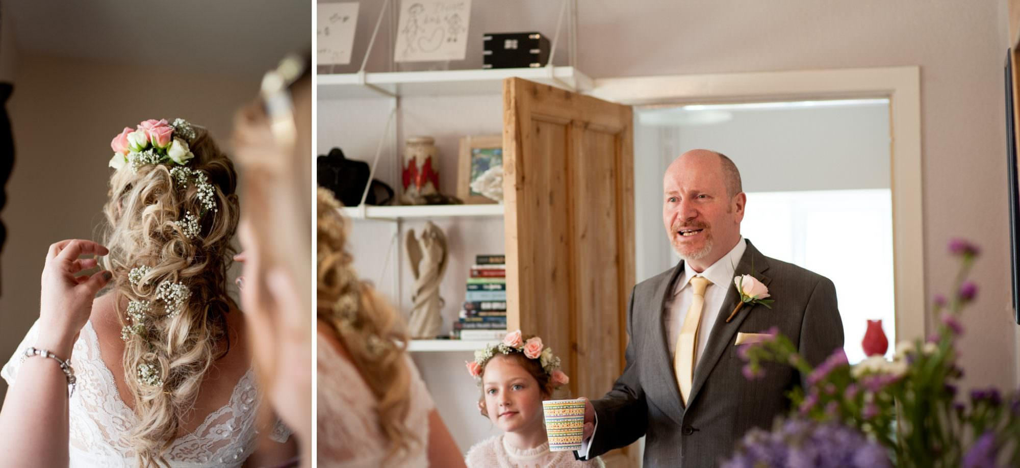 Photography during Burley Wedding