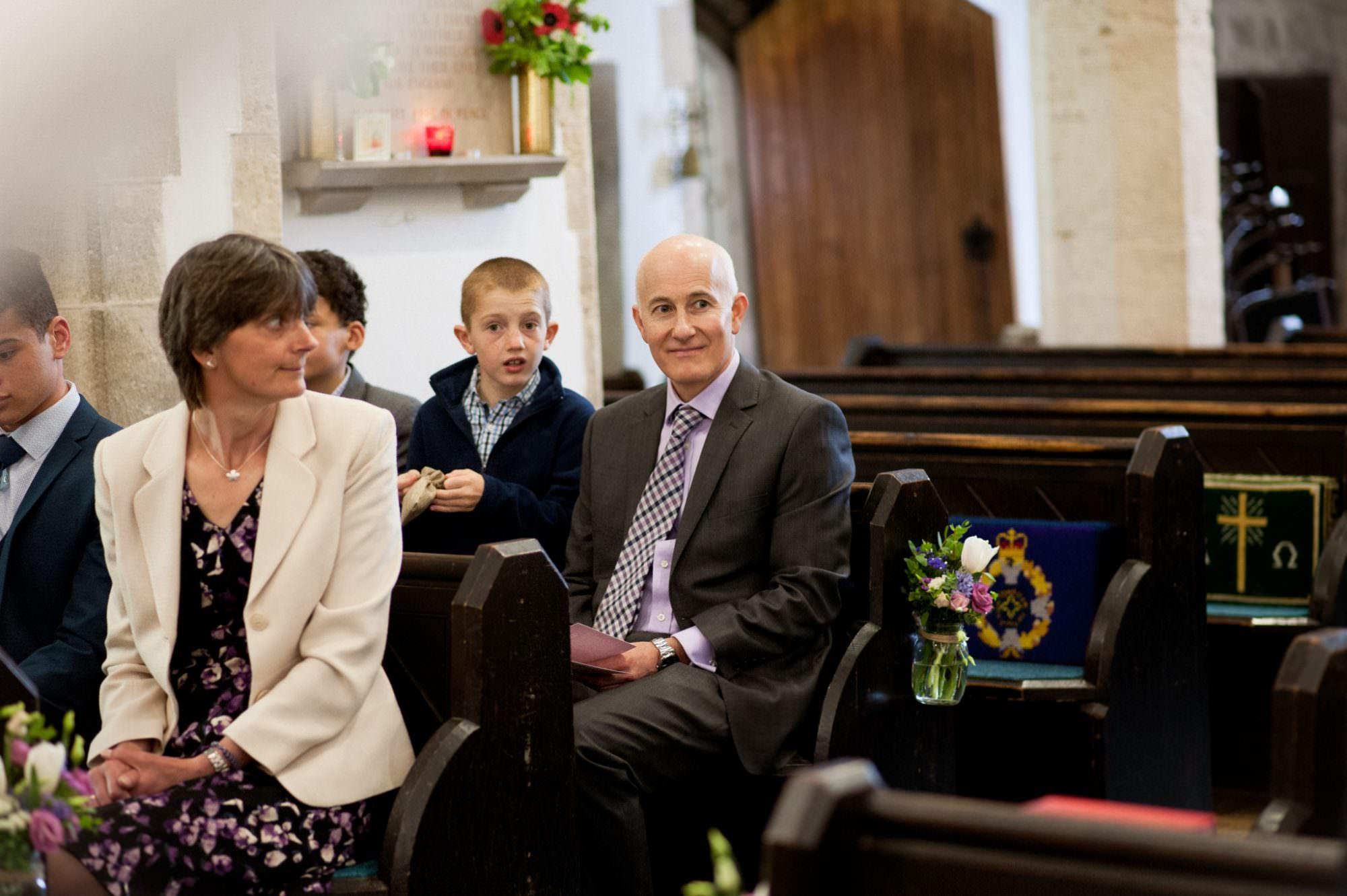 Photograph of Sopley Church Wedding