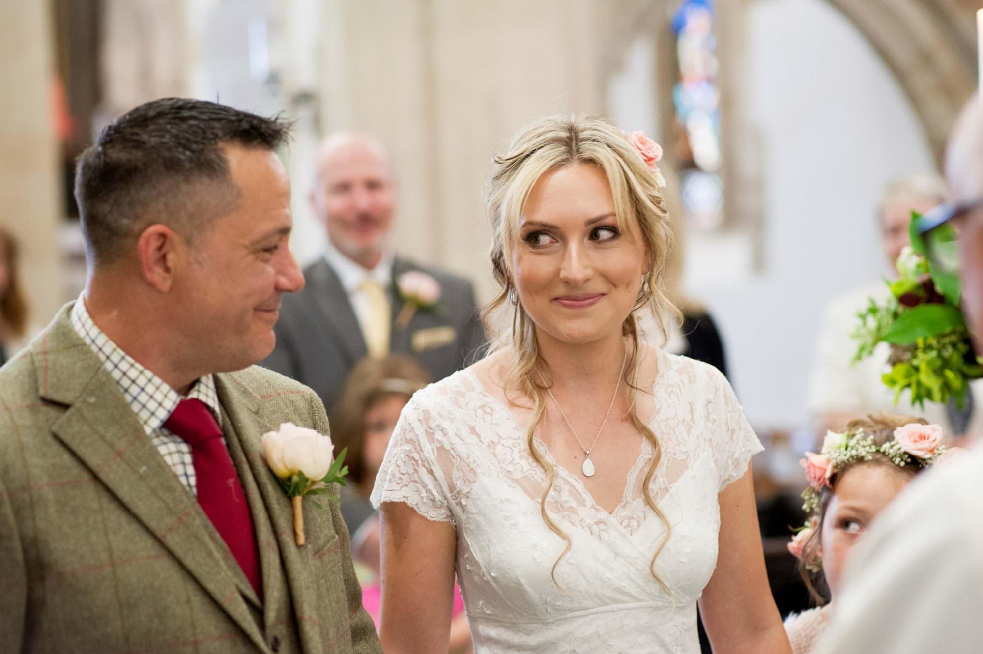Hampshire Wedding Photography at Sopley