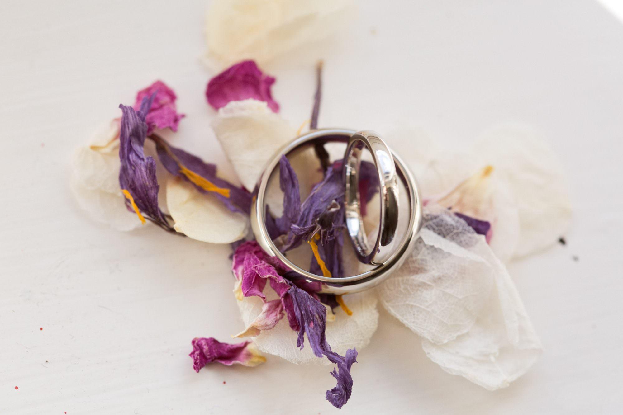 Wedding rings for Hampshire Wedding