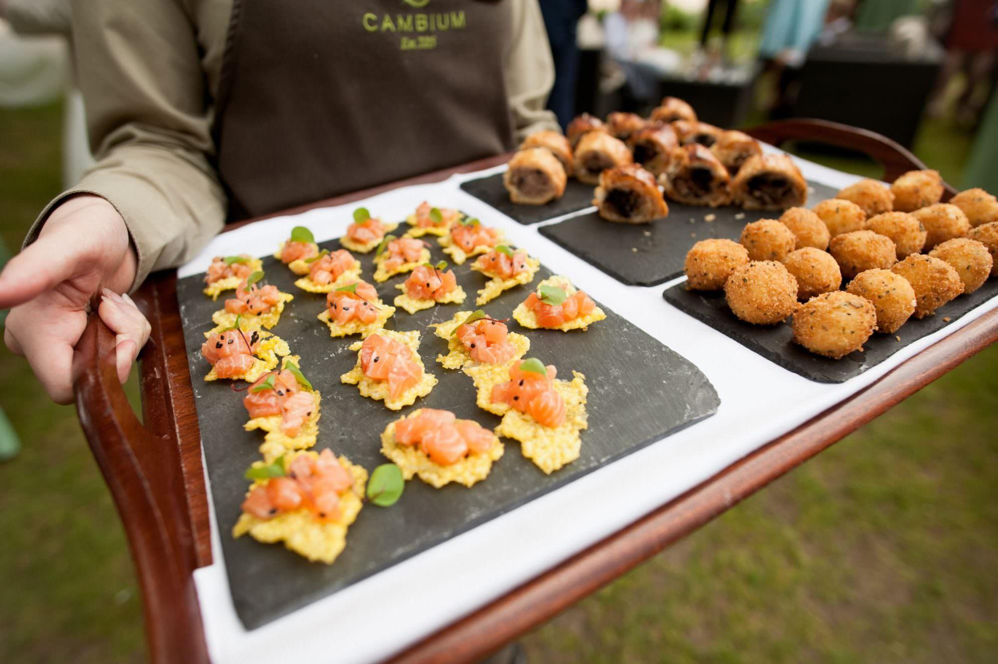 Wedding Food by Cambium Brockenhurst