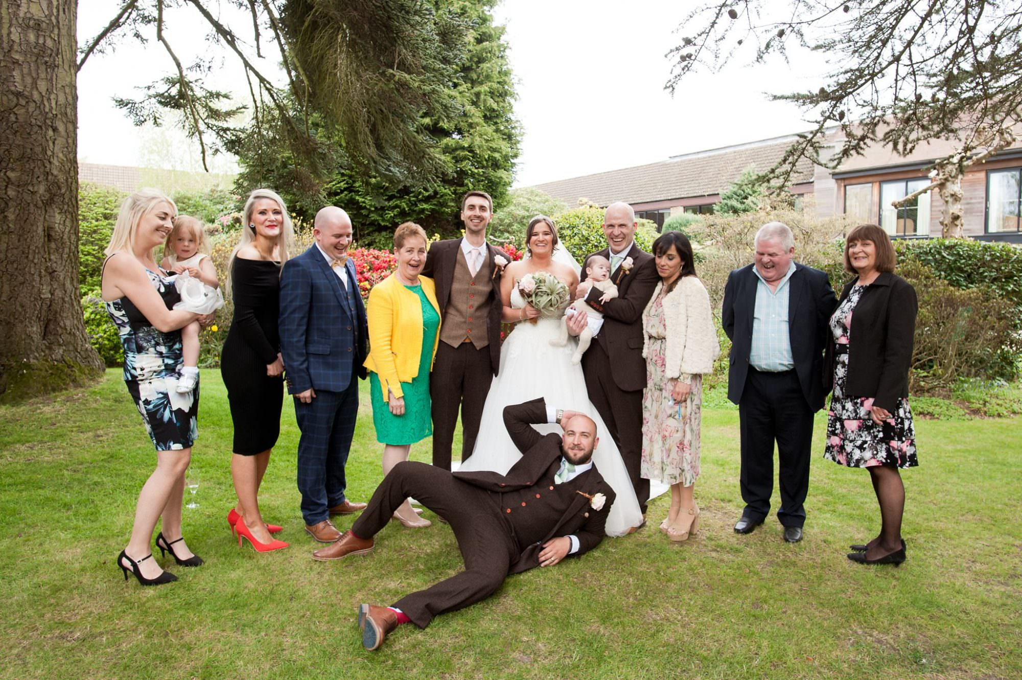 Funny Group photo at Careys Manor