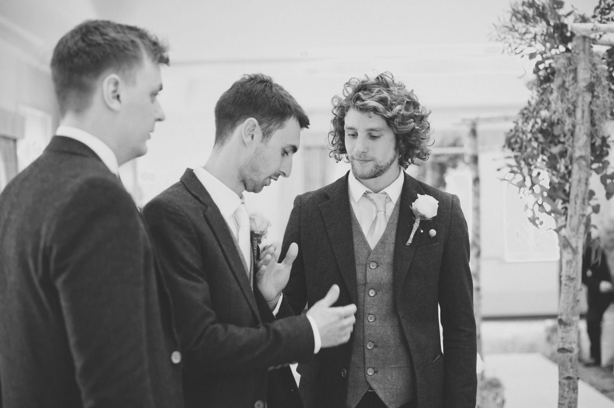 Photograph of Wedding Handshake